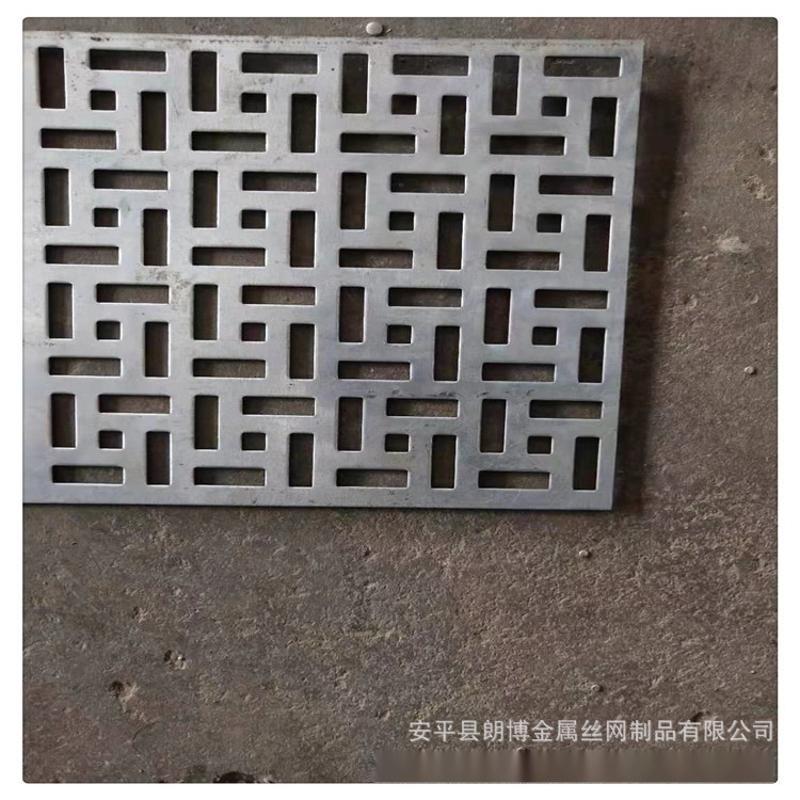 装饰冲孔网 广告牌用圆孔网 幕墙门头冲孔网板 图案孔板定制