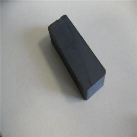 磁铁厂家定做圆形打孔强力磁铁 环形磁铁铁氧体 黑色普通方形磁铁