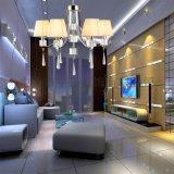 歐式現代鐵藝水晶吊燈客廳餐廳臥室吊燈6622