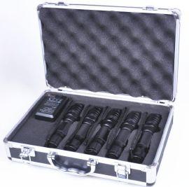 五波段LED匀光手电筒,现场搜索灯