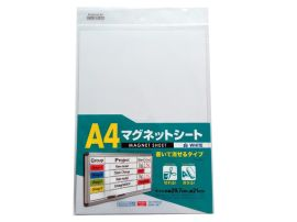 磁性白板 橡胶磁书写板 A4PP磁片
