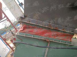 红色双面硅胶玻纤布 高温风管阻燃布 密封高温玻纤布