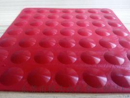红木家具红色垫脚垫   沙发防滑红色硅胶垫脚