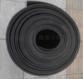 厂销耐油橡胶板1米宽3mm厚耐磨橡胶垫光滑防油密封黑胶皮丁腈橡胶板减震块