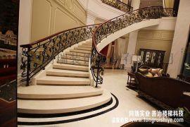 欧式铁艺室内旋转楼梯 厂家直销一站式定制