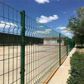 湖北三折弯护栏网双边丝护栏建筑工地围栏网护栏