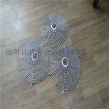 上海不鏽鋼機械防護網罩 異型金屬護罩風機鐵網