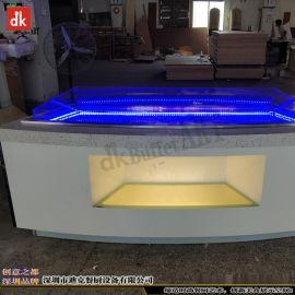 迪克定制移動布菲臺 廠家供應自助餐廳設計 制作酒店家具自助餐海鮮展示臺設備