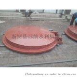 供应2米铸铁拍门 YP型新河县远航水利机械厂