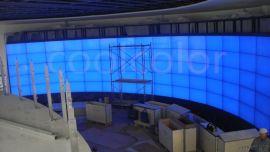 南京酷彩三星55寸液晶拼接屏机柜监控大屏
