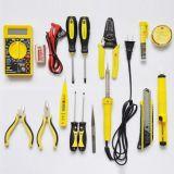 波斯工具15件电讯组套装电工组套万用表电烙铁剥线钳电笔BS511015