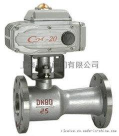 上海融骏阀门QJ941M高温电动球阀