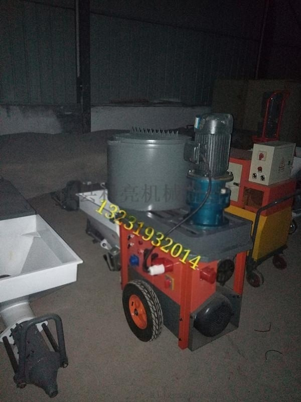 卧式防火涂料喷涂机厚型涂料喷涂设备目前使用情况曝光
