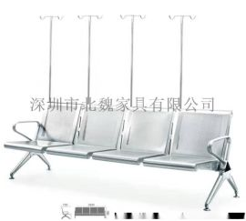 加高头枕高级输液椅-不锈钢输液椅-医用输液椅-北魏输液椅