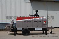 丹东天晟建筑机械挤压式混凝土输送泵