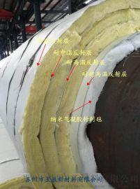 江浙沪免费送货上门厂家直供-低能耗热网专用耐**反辐射层/钢套钢蒸汽管道绝热保温材料