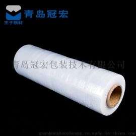 高密生产**PE缠绕膜手用拉伸膜 规格可选