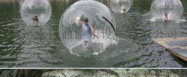 透明球充气水上步行球跳舞球