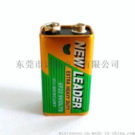 新利达9V碳性电池 麦克风测线仪电池