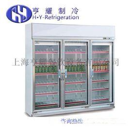 上海便利店风幕柜,超市组合式风幕柜,便利店四门饮料柜,单面移门蛋糕展示柜