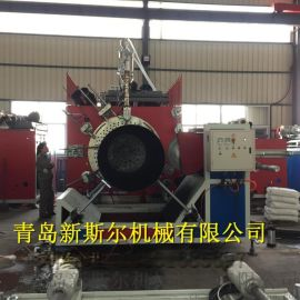HDPE缠绕型保温管挤出设备,保温管生产线