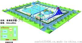 山西兒童支架水池遊泳池高水或低水或組建開來