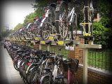 双层自行车架