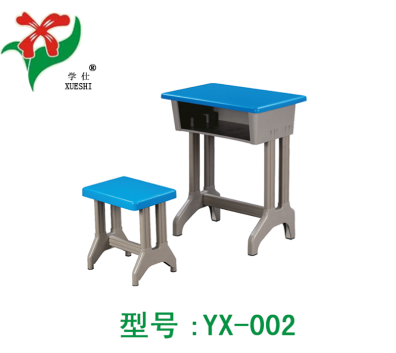 厂家直销中小学生、培训班塑钢课桌凳、塑钢课桌椅