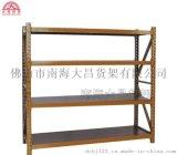 大昌厂家板式多功能折叠层架 置地杂物货架 大昌货架