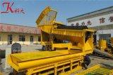 出口非洲移动式淘金设备 陆地上可移动黄金选取机械