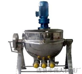 淮安炒面粉全自动搅拌夹层锅 夹层锅使用小知识