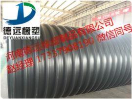 洛阳钢带波纹管增强型聚乙烯螺旋波纹排污管厂家
