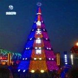 廠家直銷大型聖誕樹供應LED星星串燈聖誕樹
