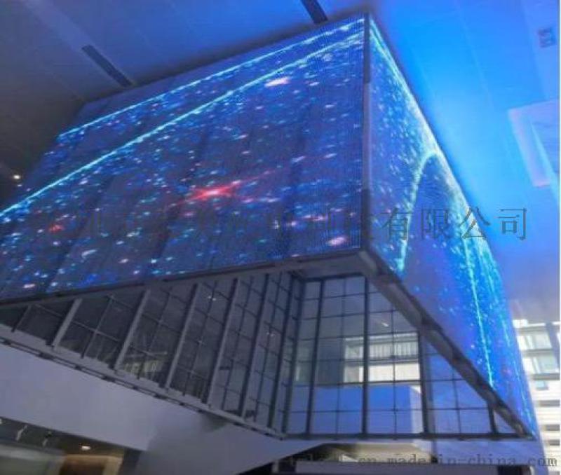 超輕超透led透明屏 P16透明LED幕牆顯示屏