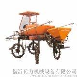 水旱自走式喷杆喷雾机 多功能柴油四轮打药机