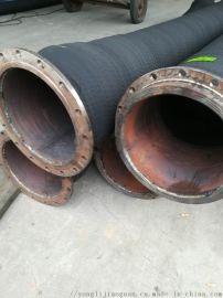 大口径抽砂橡胶钢丝管法兰式大口径橡胶钢丝管