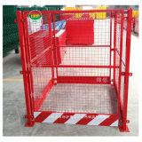 安徽工地电梯护栏塔吊基础护栏河南新乡锦银丰护栏厂家
