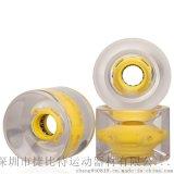 专业生产LED滑板发光轮子长板轮子