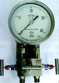 YCA系列高静压差压表