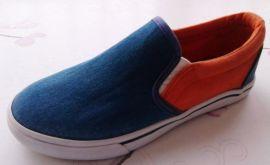 1202精品硫化帆布橡胶童鞋