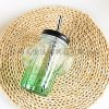 仙人掌吸管杯,果汁杯,透氣孔蓋子