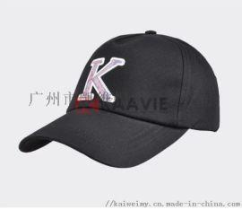 男女款贴布包边绣花棒球帽