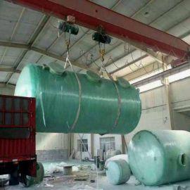 玻璃钢化粪池隔油池 重量轻