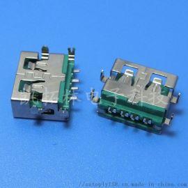 电脑USB接口电流USB母座小米大电流USB