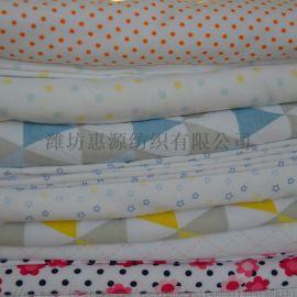 潍坊 有机棉婴幼儿服装印花面料 有机棉氨纶汗布