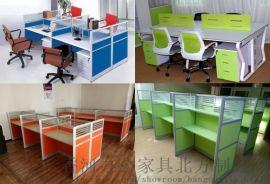 课桌椅一对一培训桌电脑桌办公桌