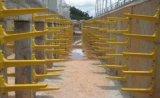 通信井玻璃钢绝缘支架活动支架安装方法