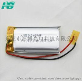 高温聚合物**电池802040-600mAH