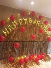 昆明花語花香、婚禮氣球布置、婚房氣球布置、婚慶氣球