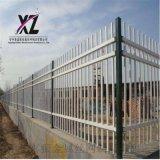 围墙护栏现货、喷塑锌钢护栏、锌钢围墙护栏定制